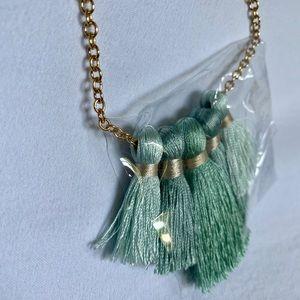 Jewelry - Miss Ivy Pearl Five Tassel Necklace